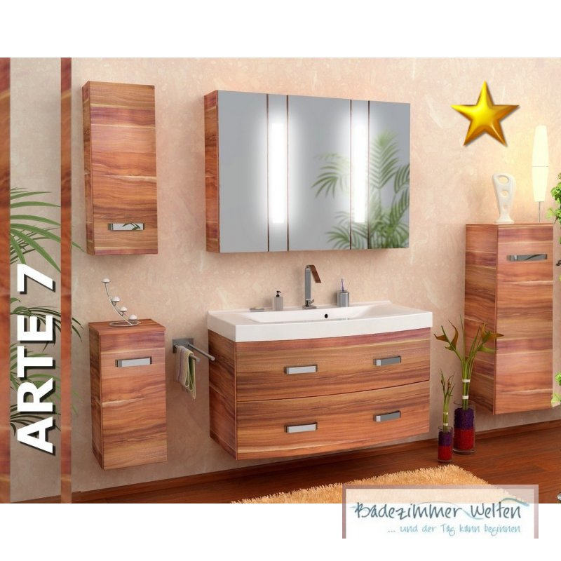 badezimmer set holz. Black Bedroom Furniture Sets. Home Design Ideas