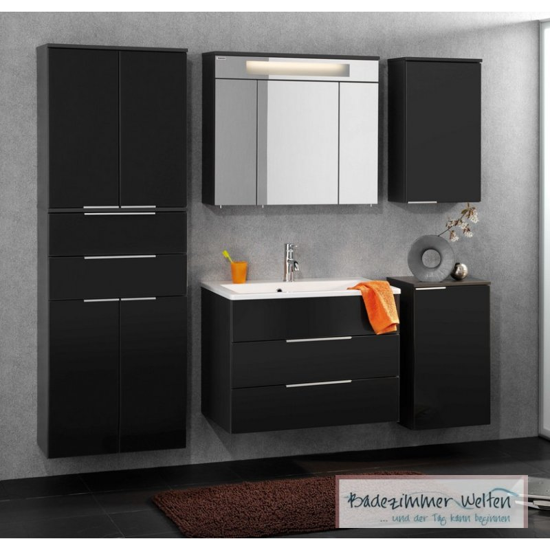 fackelmann badm bel kara anthrazit set 6 2 lgl glasbecken badm bel und. Black Bedroom Furniture Sets. Home Design Ideas