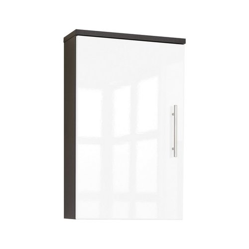 Posseik Salona Hängeschrank 40 cm in Anthrazit-Weiß
