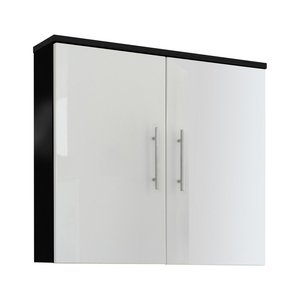 Posseik Salona Hängeschrank 70 cm in Anthrazit-Weiß
